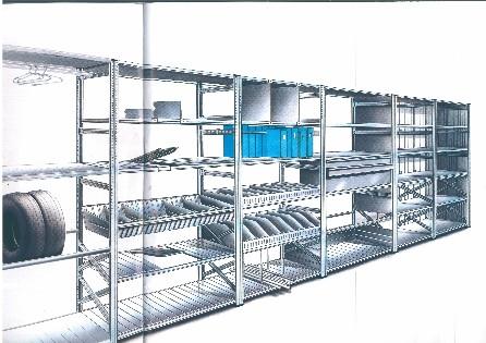 La Tecnica Scaffalature.Scaffalature Metalliche